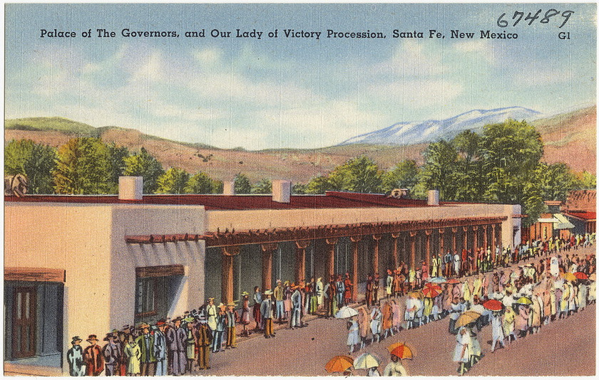 1024px-Palace_of_the_Governors_and_Our_Lady_of_Victory_Procession,_Santa_Fe,_New_Mexico_调整大小