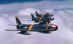 F-86 Sabres in Korea