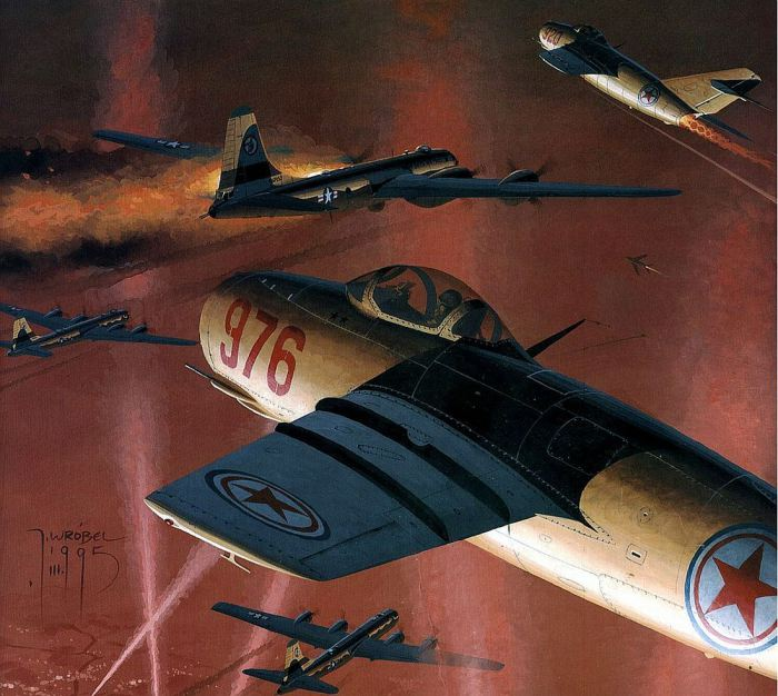 soviet-mig-15-attacking-u_s_-b-29s-during-korean-war