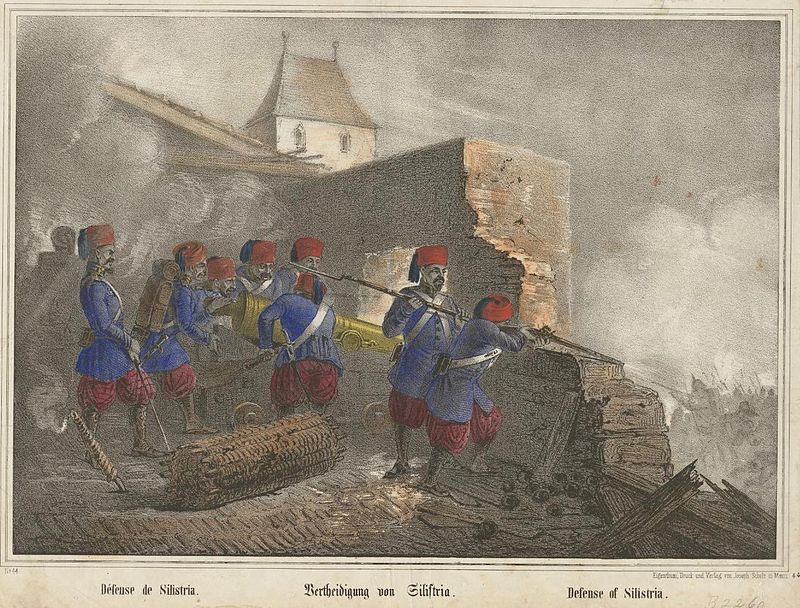 800px-Turkish_troops_at_the_defence_of_Silistria_1853-4