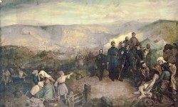 Simpson, William, 1823-1899; The Defence of Kars, Anatolia, 1855
