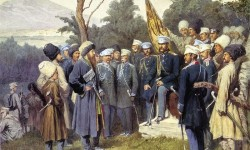 800px-Imam_Shamil_surrendered_to_Count_Baryatinsky_on_August_25,_1859_by_Kivshenko,_Alexei_Danilovich